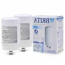 1-6pcs Brita On Tap Faucet Replacement Water Filter FR-200 W