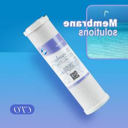 2 Pack Activated Carbon Block Water Filter Cartridge RO CTO