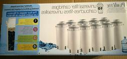 10 BRITA COMPATIBLE PURLETTE UNIVERSAL WATER FILTER CARTRIDG