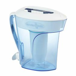ZeroWater 10 Cup Pitcher with Free Water Quality Meter BPA-F