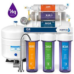 10-Stage RO Reverse Osmosis Alkaline pH+ Water Filter System