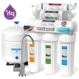 10-Stage Undersink Reverse Osmosis Alkaline Mineral Water Fi