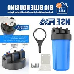 10 x 4.5 Inch Big Blue Whole House System Water Filter Housi