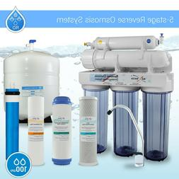 100 GPD Residential Drinking 5 stage Reverse Osmosis System