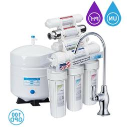 11-Stage Reverse Osmosis Filtration System Water Filter Home