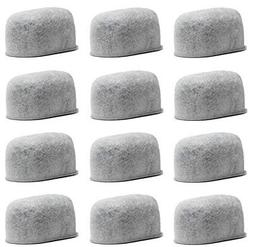 12 Charcoal Water filters Replacement For Cuisinart Coffee P