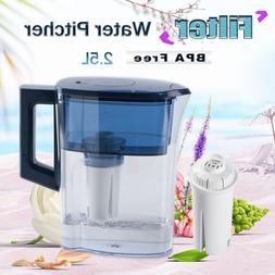 2.5L Auto Drinking Pure Water Filter Pitcher with Replaced C