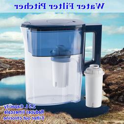 2.5L Large Water Filter Pitcher Dispenser Limescale/Arsenic/