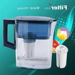 2.5L WATER FILTER PITCHER WITH 1 FILTER WATER PURIFIER HEALT