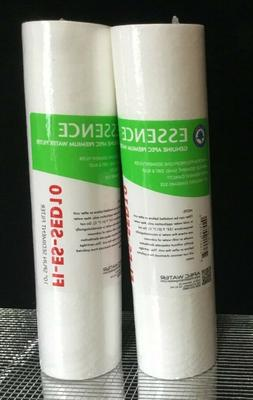 """2- APEC 5 Micron 10"""" x 2.5"""" Sediment Water Filter For Revers"""