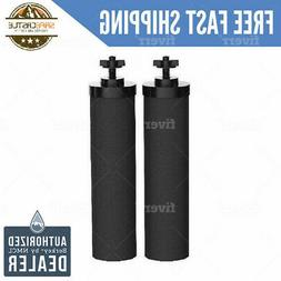 2 Black Berkey Water Filters Replacement Filters - Free 2 Da