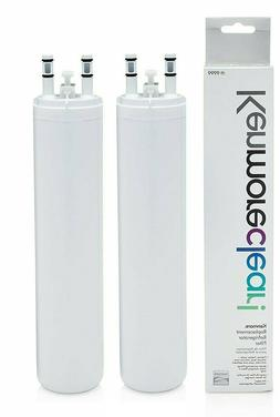 2-Pack Fit Kenmore 9999 Refrigerator Water Filter, White,By
