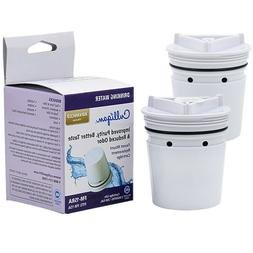2 pack fm 15ra advanced faucet filter