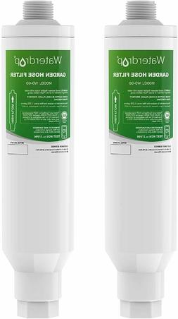 2 Pack - Waterdrop Garden Hose Water Filter, NSF Certified,