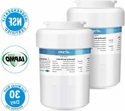 2 Pack JETERY NSF/ANSI-42 Certified GE MWF Refrigerator Wate