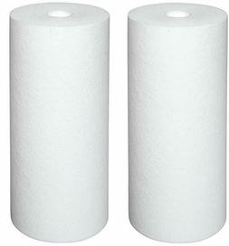 2-PACK of Sediment Water Filter Whole House Big Blue 5 Micro