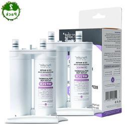 2 Pack PT-WF2CB Refrigerator Water Filter for Frigidaire WF2