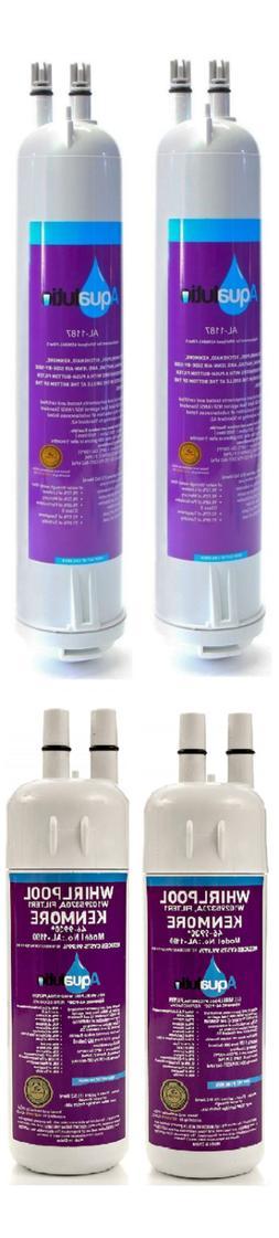 2 Pack Refrigerator Water Filter For Maytag KitchenAid Amana