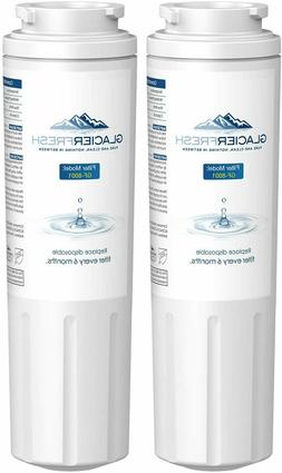 2 Pack Refrigerator water filter Replacement for whirlpool U