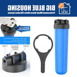"""20"""" x 4.5 Household System Big Blue Water Filter Housing Hig"""