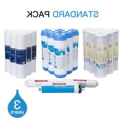22 PCS Home Reverser Osmosis Water Replacement Filter Sedime