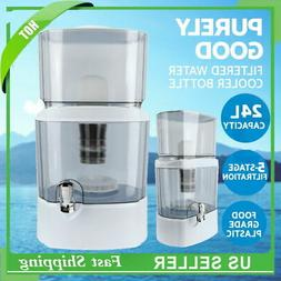 24L Benchtop 5 Stage Water Filter Ceramic Carbon Mineral Pur