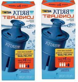 2pack Brita Longlast Water Filter, Longlast Replacement Filt