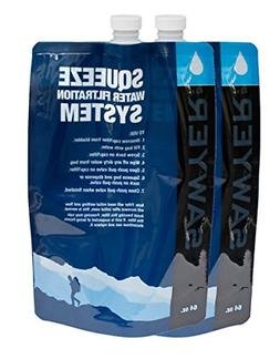 2pc 64oz Water Filter System Replacement Pouch Purifier Camp
