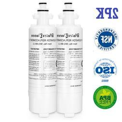 2PK FOR LG ADQ36006101 Fridge Water Filter ADQ36006101-s Wat