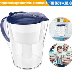 Simpure 3.5L / 15 Cup Water Filter Pitcher with Filter for 3