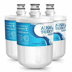 3 Pack Refrigerator water filter fits LG ADQ72910901, GEN110