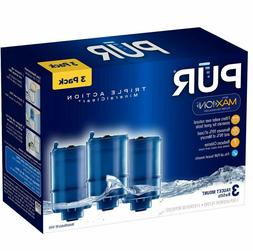 3 Pack RF-9999 Water Filter Compatible with Pur Faucet Repla