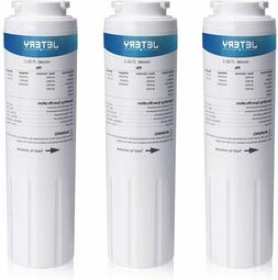 3 Pack JETERY Refrigerator Water Filter Maytag UKF8001AXX-75