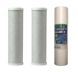 3 Reverse Osmosis Water Filter 2 Carbon Block 1 Sediment 5 M
