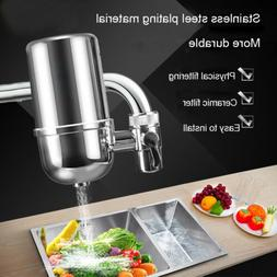 304 Stainless Steel Faucet Water Filter,Tap Water Clean Puri