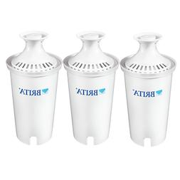 Brita 35503 3 Count Water Filter Pitcher Advanced Replacemen