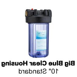 Geekpure 4.5 x 10-inch Big Blue Water Filter Clear Housing 1