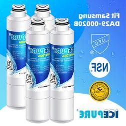 4 Pack Fit for Samsung DA29-00020B WF101 Refrigerator Water