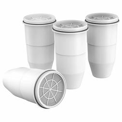 4 Pack Water filter cartridge Replacement for ZeroWater 12 c