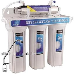 4 - Stage Drinking Water Filter UV Ultraviolet Light Purifie