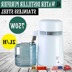 4L 750W Pure Purifier Filter Countertop Water Distiller Dent