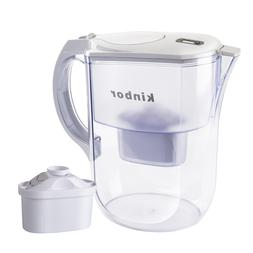 4L Unit Cup Capacity  Drink Cool Water Pitcher Filter New BP