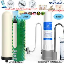 4Stage Countertop Water Purifier Filter KitchenDrinking Wate