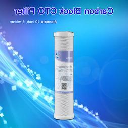 5 Micron CTO Carbon Block RV Water Filter Cartridge Replacem