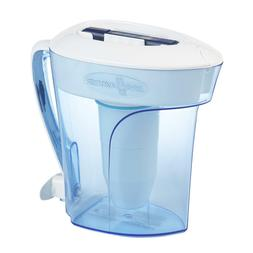 5 Stage 10 Cup Water Filter Pitcher BPA Free NSF Purificatio