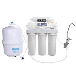5 Stage Home Drinking 50 GPD Reverse Osmosis Water Filter Sy