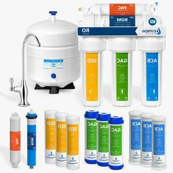 5 Stage Home Drinking Reverse Osmosis System PLUS Extra 7 Ex
