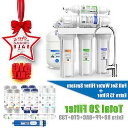 5 Stage Reverse Osmosis Home Drinking Water Filter System Pu