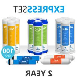 2 Year Reverse Osmosis System Replacement Filter Set – 16