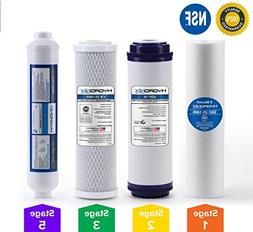 5 Stage Reverse Osmosis RO Water Filter Replacement Set 4 pc